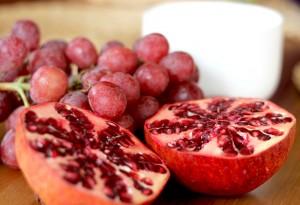 magrana raïm salut dental tardor granadas uvas salud dental otoño dentista