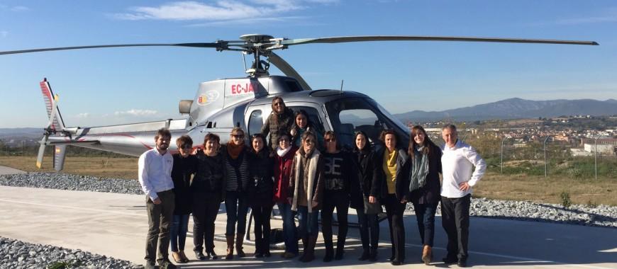 25 anys centre dental castellsagué helicopter