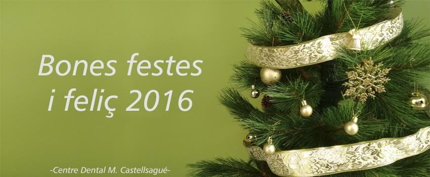 bon nadal i feliç 2016 centre dental castellsagué granollers