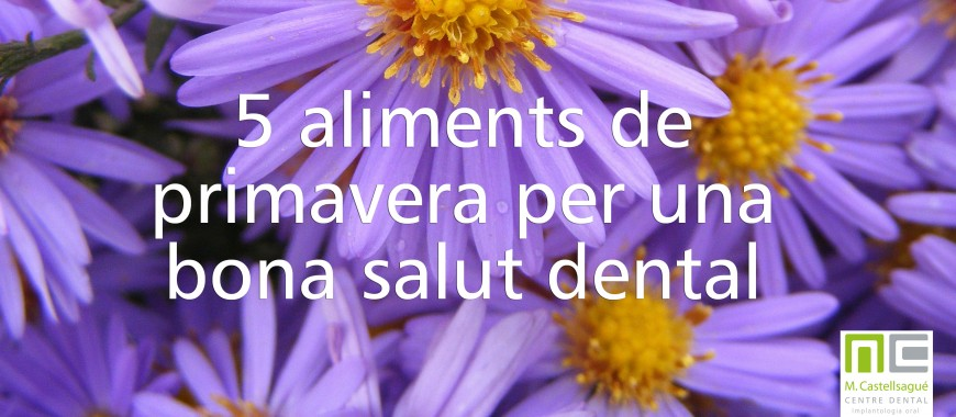 aliments primavera bons salut dental