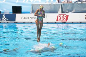 natación sincronizada olimpiadas rio 2016 nadadora